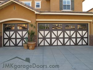 Custom Painted Garage Door