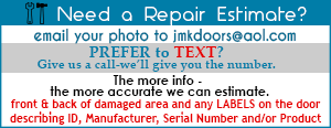Email Garage Door Repair for Estimate